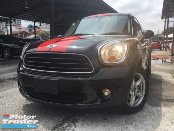 2014 MINI Countryman 1.6 (UNREG) INT RED ONLY ONE UNIT AT MALAYSIA CHEAPEST IN TOWN