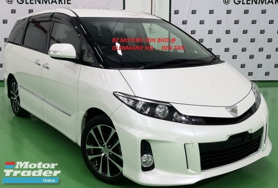 2015 TOYOTA ESTIMA 2015 TOYOTA ESTIMA 2.4 AERAS PREMIUM JAPAN SPEC UNREG CAR SELLING PRICE ( RM 165,000.00 NEGO ) WHITE