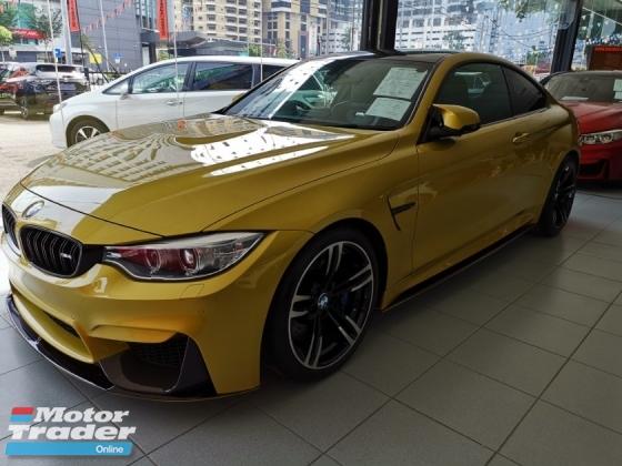 2015 BMW M4 BMW M4 3.0 Coupe with Harmon Kardon sound system