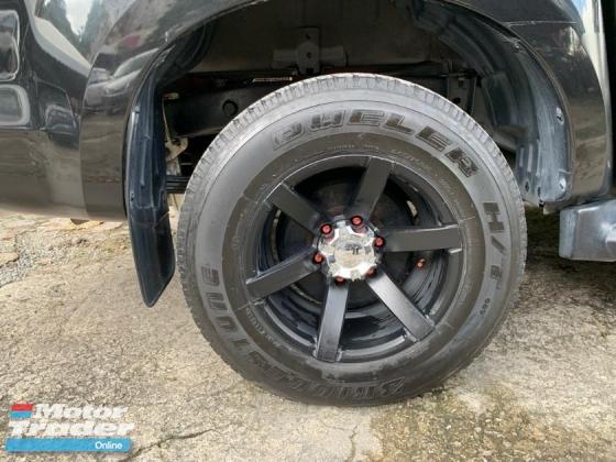 2018 ISUZU D-MAX 2.5L 4X4 DOUBLE CAB VIP OWNER LIKE NEW CAR UNDER WARRANTY