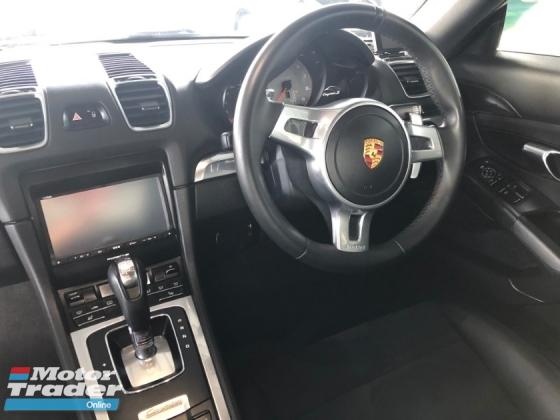 2015 PORSCHE CAYMAN S 3.4 Sport Steering Paddle Shift PDK 7-Speed Mechanical LSD Bucket Seat Automatic Rear Spoiler Dual Zone Climate 1 Year Warranty Unreg