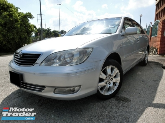 2002 TOYOTA CAMRY 2.4V (A) CASH BUYER / SMOOTH ENGINE AND GEAR BOX / NEGO TILL LET GO /