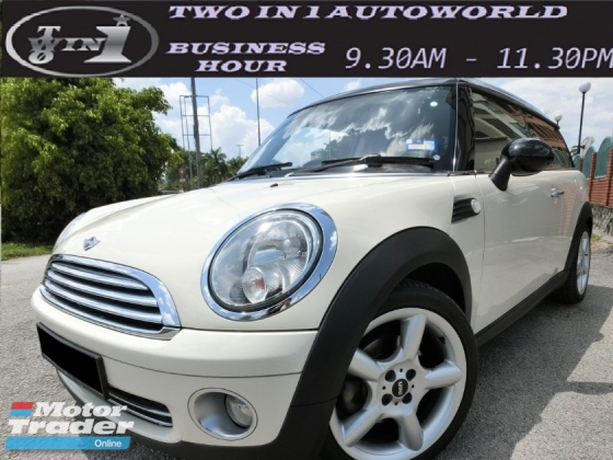 2008 MINI Clubman 1.6 S CLUBMAN (A) F-LOAN / LIKE NEW / VVIP OWNER / WELL MAINTAINED CAR