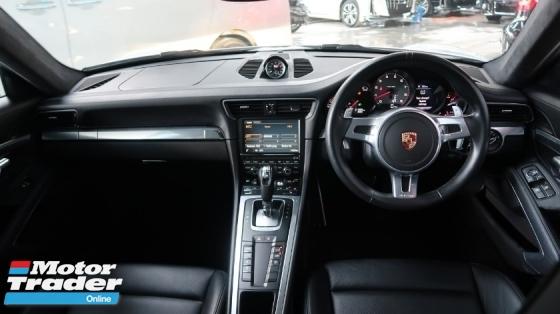 2014 PORSCHE 911 3.8L CARRERA S 991 Coupe Unreg
