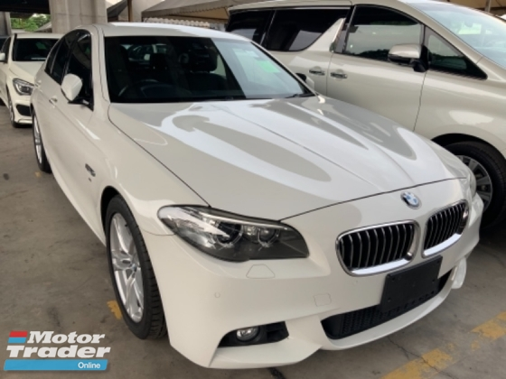 2014 BMW 5 SERIES 520i M sport package keyless entry Alcantara sport seats back camera Japan unregistered