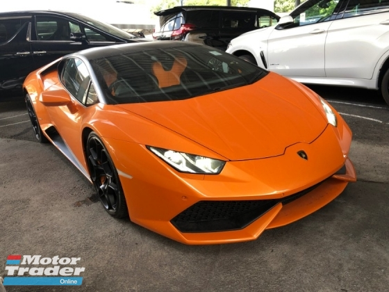 2015 LAMBORGHINI HURACAN LP610-4 5.2 V10 610hp Lifting System Lamborghini Doppia Frizione (LDF) MPI IDS STRADA/SPORT/CORSA Selection Carbon Ceramic Brake Full LED System Bucket Seat Multi Function Paddle Shift Lamborghini Dynamic Steering (LDS) Unreg