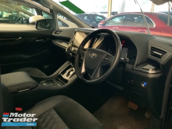 2017 TOYOTA VELLFIRE 2.5 ZG pilot seat 4 camera power boot 2 power doors bodykit precrash system unregistered