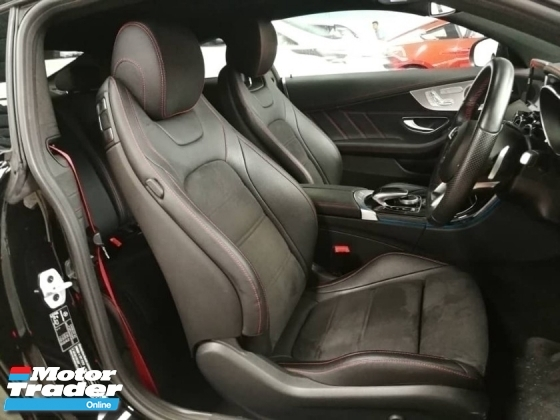 2017 MERCEDES-BENZ C-CLASS C43 Coupe AMG Unreg