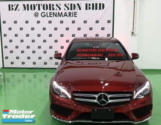 2016 MERCEDES-BENZ C-CLASS 2016 MERCEDES C200 2.0 AMG SPEC ORIGINAL FROM JAPAN UNREG CAR SELLING PRICE RM 202000.00 NEGO