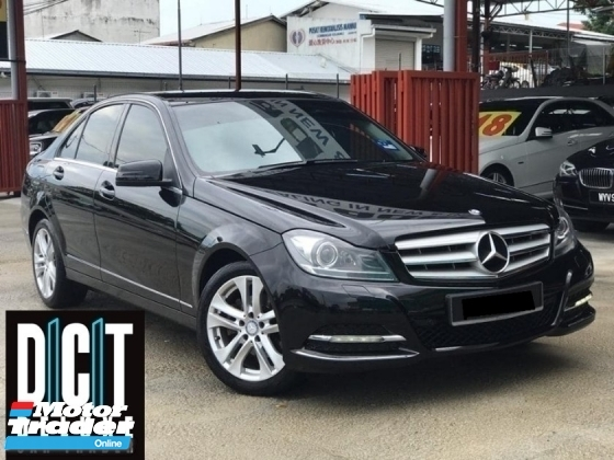 2013 MERCEDES-BENZ C-CLASS C200 CGI BLUE EFFICIENCY AVANTGARDE SPECIAL EDITION ONE DOCTOR OWNER LIKE NEW CAR