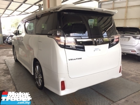 2016 TOYOTA VELLFIRE 2.5 GOLDEN EYE UNREG TRUE YEAR MADE CAN PROVE.FULLSPEC.SUNROOF.JBL SOUND.PRE CRASH.7 SEAT.ORI 3 POWER DRS N BOOT.360 SURROUND CAMERA.18 INCH SPORT RIM N ETC.FREE WARRANTY N MANY FIFTS