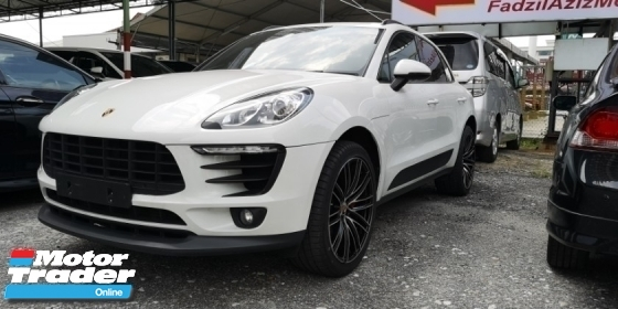 2016 PORSCHE MACAN 2.0 / RED LEATHER INTERIOR / READY STOCK NO NEED WAIT