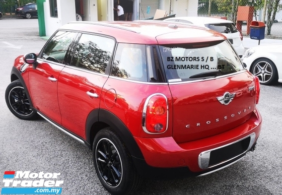 2015 MINI Countryman 2015 MINI CROSSOVER 1.6M JAPAN SPEC UNREG SELLING PRICE ( RM 108,000.00 NEGO ) CAR BODY - RED COLOR