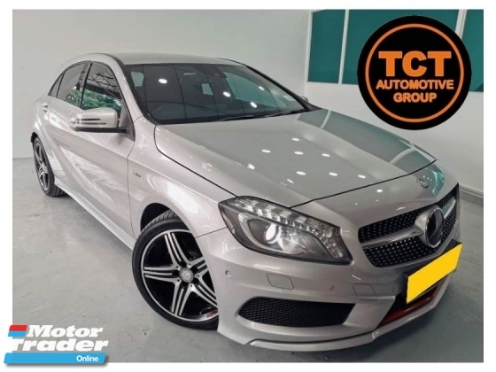 2014 MERCEDES-BENZ A-CLASS A250 2.0 (A) SPORT W176 HOT HATCH Local Spec