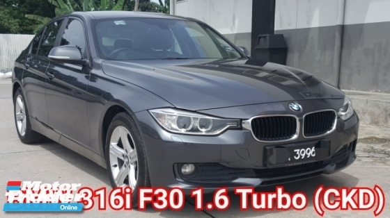 2015 BMW 3 SERIES 316i F30 1.6 (CKD) Facelift Turbo Keep Like New Car Condition Never Accident Before Full Service By BMW Free 1 Year Warranty Worth Buy