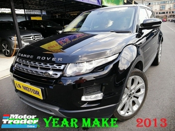 2013 LAND ROVER EVOQUE RANGE ROVER 2.2 AUTO DIESEL EURO5 - BRAND NEW LAN ROVER - MERIDIAN SOUND SYSTEM- NAVI - REVERSE CAMERA - FULL LEATHER SEAT -FULL SERVICE RECORD - FULL LOAN AVAILABLE -