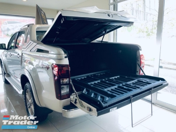 2019 ISUZU D-MAX 2.5L 4X4 DOUBLE CAB - Z-Prestige Premium with VLid Cover at the Back