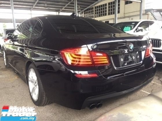 2014 BMW 5 SERIES 520I M SPORT FULLSPEC UNREG.TRUE YEAR MADE CAN PROVE.JPN.PRE CRASH.REVERSE CAM.MEMORY SEAT.LANE ASSIST.HID LIGHT.KEYLESS GO N ETC.FREE WARRANTY N MANY GIFTS