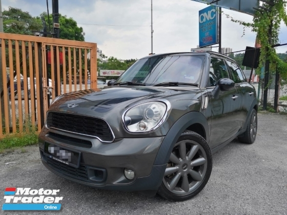 2011 Mini Countryman 16 Cooper S Uk Spec Sunroof Leather Seat Rm