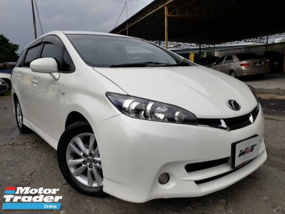 2009 TOYOTA WISH REG 13 1.8 (A) PUSH START 1 CAREFUL OWNER GOOD CONDITION PROMOTION PRICE.