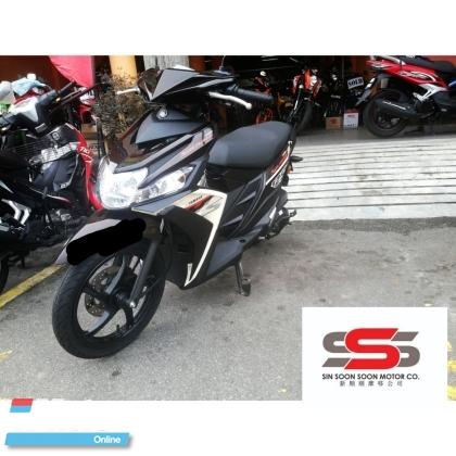 Yamaha ego Solaliz (mileage 4971km)