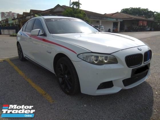 2011 BMW 5 SERIES 520I F10 M Sport Luxury car,Push start,Sunroof,Sport mode