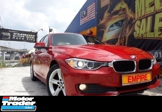 2016 BMW 3 SERIES 316i 1.6 ( A ) F30 LUXURY SPORT EDITION !! NEW CAR PRICE RM 209,800.00 !! TWIN POWER TURBO !! CKD !! FULL SERVICE RECORD BY AUTO BAVARIA !! WARRANTY TILL OCTOBER 2020 !! MILEAGE 50, 972KM ONLY !! NEW FACELIFT !! PREMIUM FULL HIGH SPECS COMES WITH PUSH STA