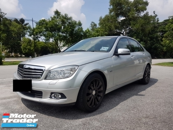2011 MERCEDES-BENZ C-CLASS C200 CGI BLUE EFFICIENCY AVANTGARDE VERY LOW MILEAGE 31K ONLY