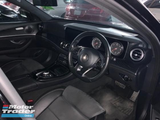 2017 MERCEDES-BENZ E-CLASS E220D AMG sport package back camera diesel led headlamp unregistered