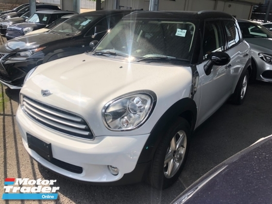 2014 MINI Countryman Crossover 1.6 Tiptronic 6-Speed Auto Transmission Xenon Light Push Start Button Climate Control 1 Year Warranty Unreg