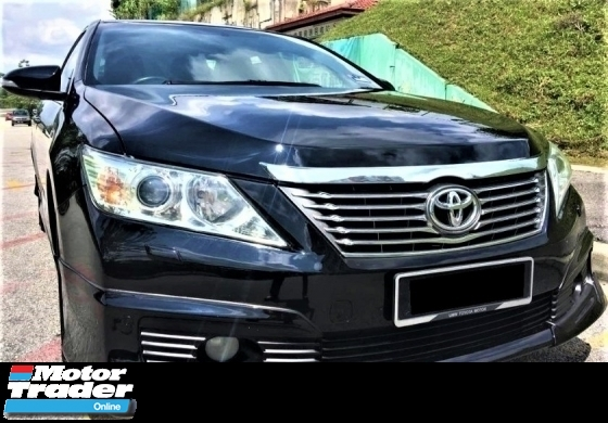 2013 TOYOTA CAMRY  2.0 G SPEC FACELIFT BLACKINTERIOR PUSHSTAT BUTTON FULLOAN