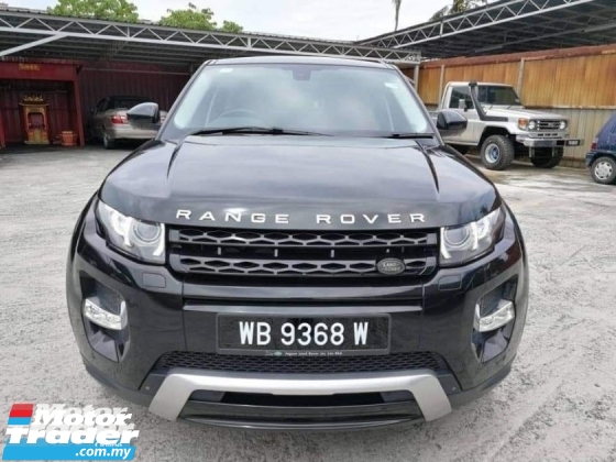 2015 LAND ROVER EVOQUE 4 doors