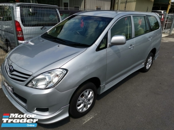 2009 TOYOTA INNOVA 2.0E (M) - LOAN KEDAI / Muka 3K - 5K / DVD Reverse Camera / TRD Bodykit  / True Year Made