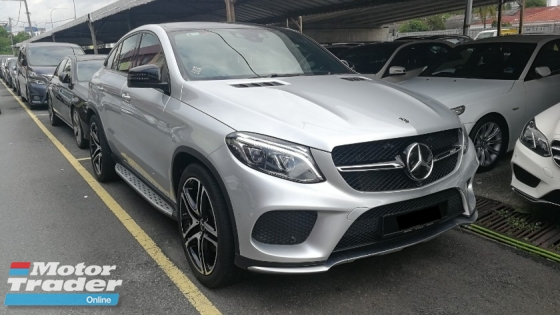 2017 MERCEDES-BENZ GLE GLE43 AMG Coupe