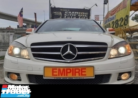 2009 MERCEDES-BENZ C-CLASS C230 2.5 ( A )  AVANTGARDE EDITION !! LOCAL ASSEMBLE !! MODEL W204 !! ( AXX 39 ) 1 CAREFUL OWNER !!
