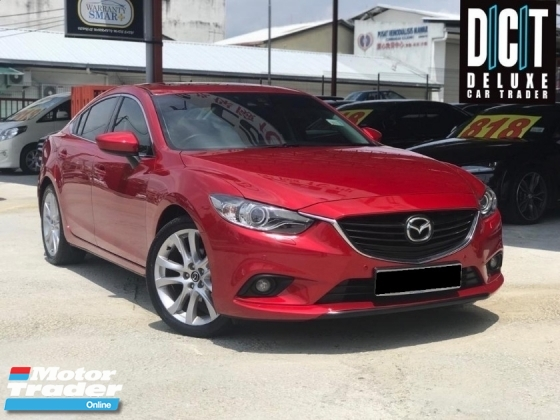 2015 MAZDA 6 2.5 SDN 5EAT PREMIUM HIGH SPEC ONE OWNER LOW MILEAGE SHOWROOM CAR CONDITION LIKE NEW CAR