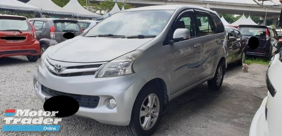 2012 TOYOTA AVANZA 1.5 G (A) True Year Made