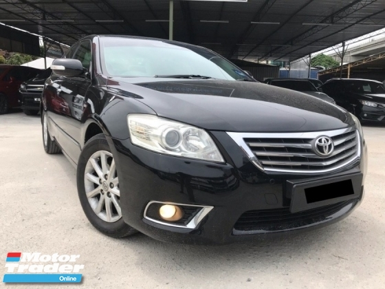2010 TOYOTA CAMRY 2.0G FACELIFT - BODYKIT - LEATHER SEAT - ELECTRIC SEAT - PERFECT CONDITION - OFFER MEGA SALE - DEAL SAMPAI JADI