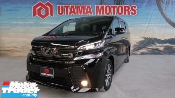 2017 TOYOTA VELLFIRE 2.5 ZA GOLDEN EYE POWER DOOR REAR VIEW CAMERA YEAR END SALE SPECIAL