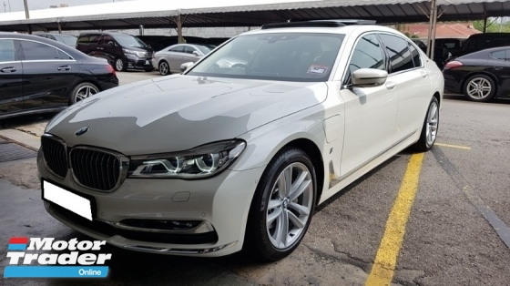 2017 BMW 7 SERIES 740Le XDRIVE 2.0cc (A) REG 2017, CKD MODEL, ONE CAREFUL OWNER, FULL SERVICE RECORD, LOW MILEAGE DONE 28K KM, UNDER WARRANTY UNTIL SEPTEMBER 2022, 19\