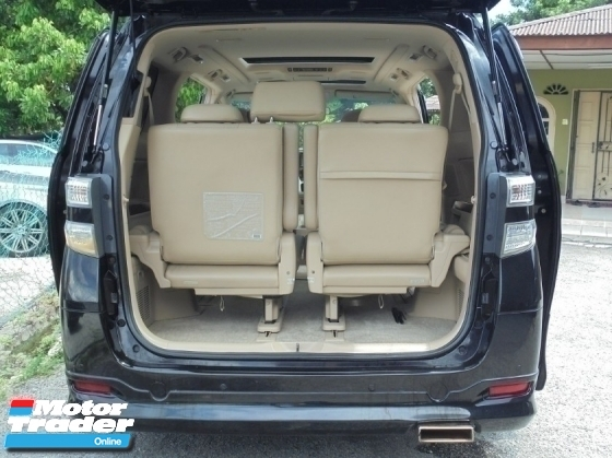 2008 TOYOTA VELLFIRE 3.5 VL Edition PilotSeat 2Powerdoor Powerboot HomeTheater Facelift Reg.2013