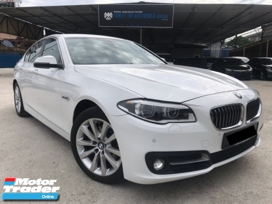 2014 BMW 5 SERIES 520I 2.0 TWIN TURBO - FACELIFT - FULL SERVICE RECORD - MEMORY SEAT - KEYLESS - PUSH START - ADAPTIVE LED - NEW METER - MEGA SALE OFFER NOW