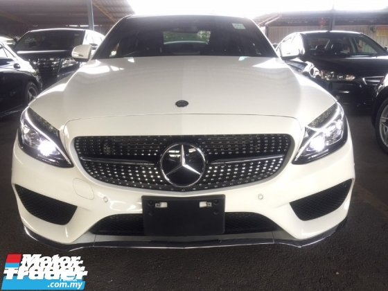 2015 MERCEDES-BENZ C-CLASS C200 AMG JPN.TRUE YEAR MADE CAN PROVE.PADDLE SHIFT.ORI AMG KIT N RIM.LED LIGHT.PRE CRASH.REVERSE CAM.MEMORY SEAT.LEATHER N ETC.FREE WARRANTY N MANY GIFTS