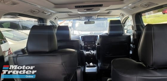 2015 TOYOTA VELLFIRE 2.5ZA NO HIDDEN CHARGES ACTUAL YEAR MAKE