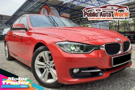 2016 BMW 3 SERIES 2.0 (A) Sport Line F/SERVICE RECORD Full Spec YR 2015