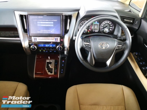 2015 TOYOTA ALPHARD 2.5 X EDITION 8 SEATERS UNREG