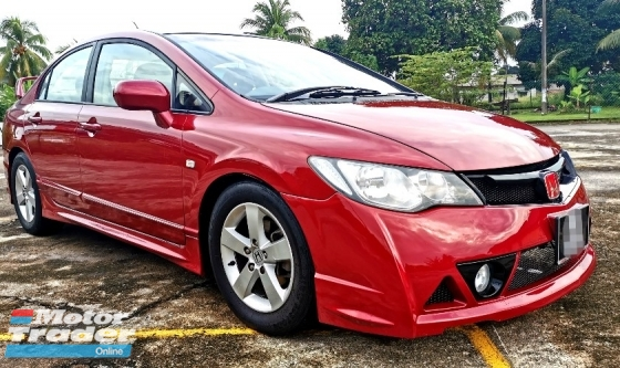 2008 HONDA CIVIC 1.8S AUTO I-VTEC DOCH / LEATHER SEAT / MUGEN BODYKIT / TIPTOP CONDITION