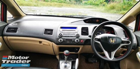 2008 HONDA CIVIC 1.8S AUTO I-VTEC DOCH / LEATHER SEAT / MUGEN BODYKIT / TIPTOP CONDITION