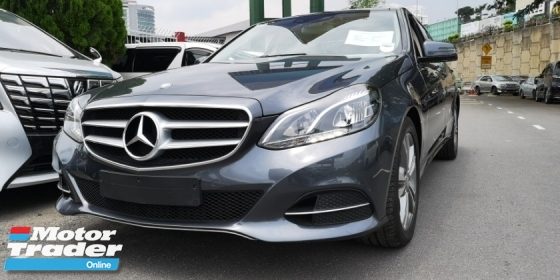 2014 MERCEDES-BENZ E-CLASS E250 2.0 SE / TIPTOP CONDITION FROM JAPAN / 4 YEARS WARRANTY UNLIMITED KM