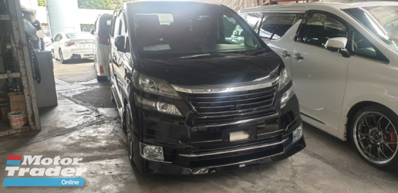 2014 TOYOTA VELLFIRE 2.4Z G EDITION NO HIDDEN CHARGES ACTUAL YEAR MAKE 2014